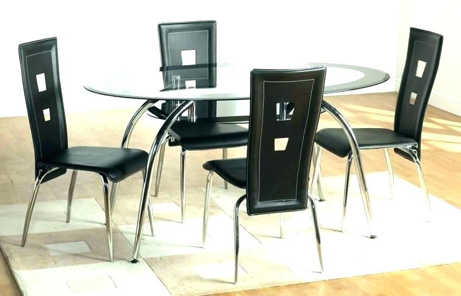 Glass Dining Room Chairs – Buxenz With Regard To 2018 Glass Dining Tables And Chairs (View 9 of 20)