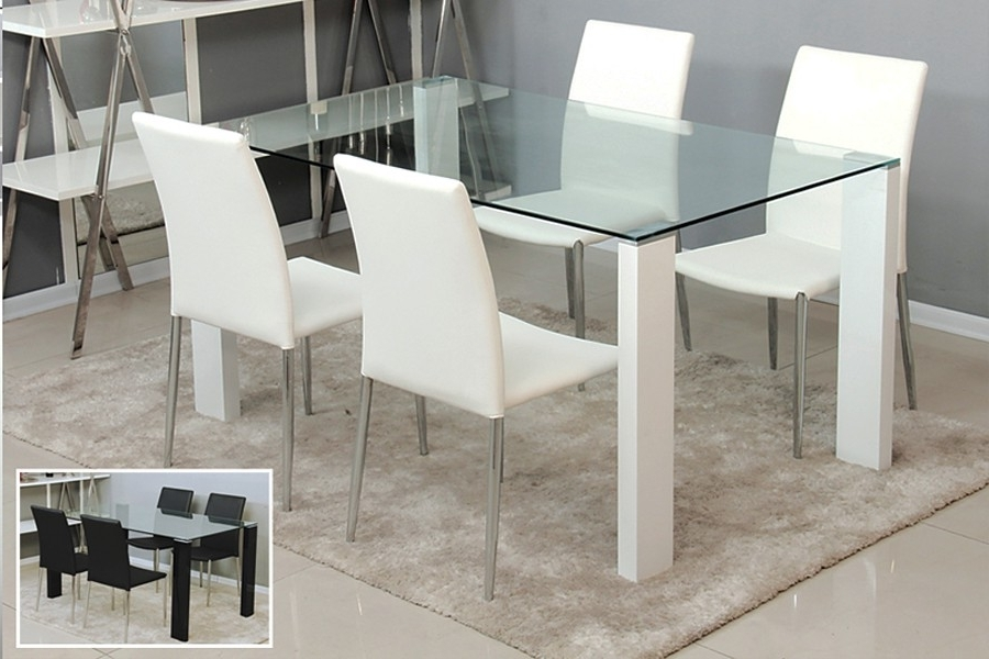 Glass Dining Tables With Most Current The Need For The Contemporary Glass Dining Table – Home Decor Ideas (Gallery 17 of 20)