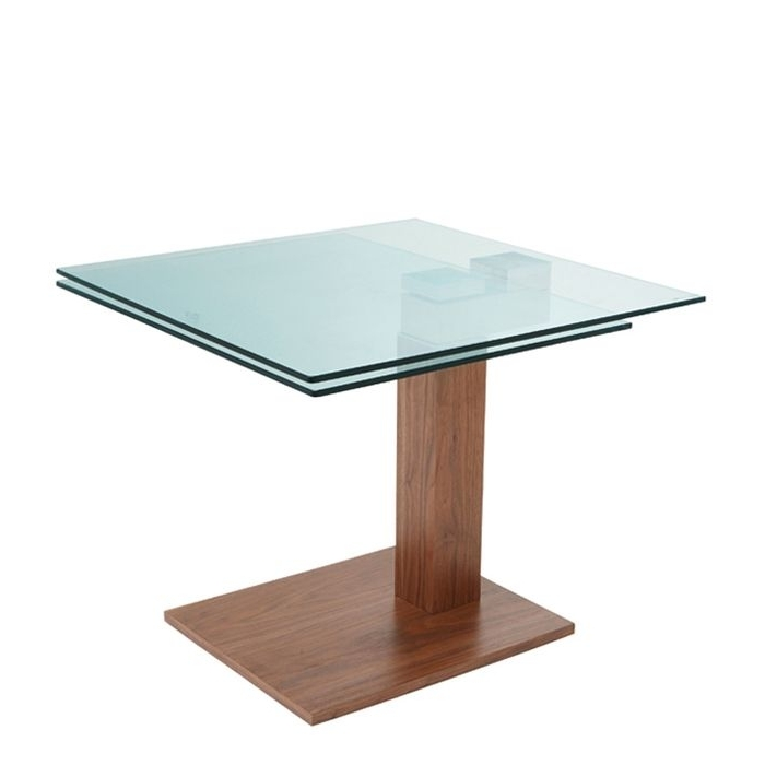 Glass Dining Tables Within Widely Used Square Extending Dining Tables (View 6 of 20)
