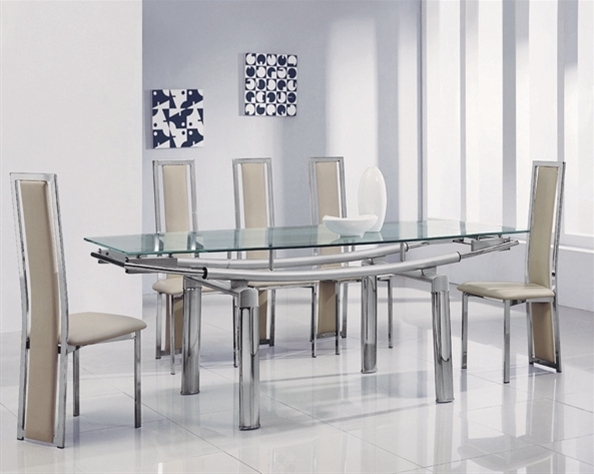 Glass Extendable Dining Tables And 6 Chairs Inside 2018 3 Steps To Pick The Ultimate Dining Table And 6 Chairs Set – Blogbeen (Gallery 2 of 20)