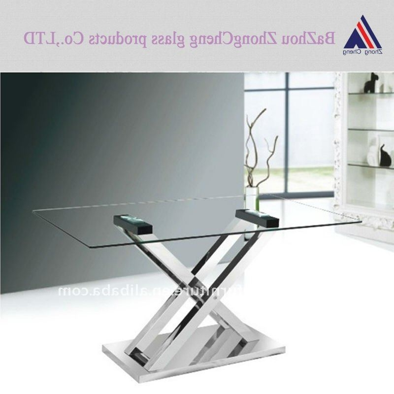 Glass Folding Dining Tables Throughout Favorite Folding Leg Glass Dining Table – Buy Glass Dining Table,modern (View 8 of 20)