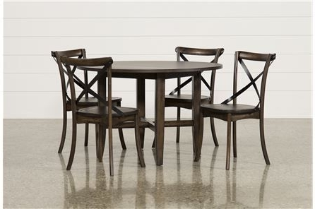 Grady 5 Piece Round Dining Set – Main (View 9 of 20)