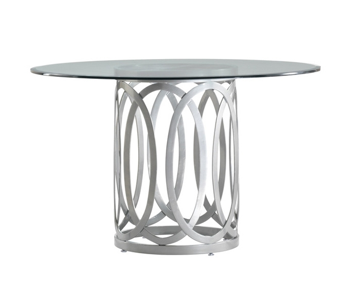 Grady Round Dining Tables For Latest Allan Copley Designs Alchemy Dining Base With Round Top 48 (Gallery 8 of 20)