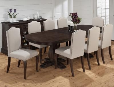 Grand Terrace Dining Table – Horizon Home Furniture With Most Current Dining Tables Dark Wood (Gallery 10 of 20)