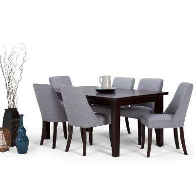 Gray – Dining Room Sets – Kitchen & Dining Room Furniture – The Home Regarding Most Popular Craftsman 5 Piece Round Dining Sets With Uph Side Chairs (View 7 of 20)