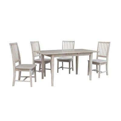 Gray – Dining Room Sets – Kitchen & Dining Room Furniture – The Home Throughout Popular Craftsman 5 Piece Round Dining Sets With Uph Side Chairs (View 8 of 20)