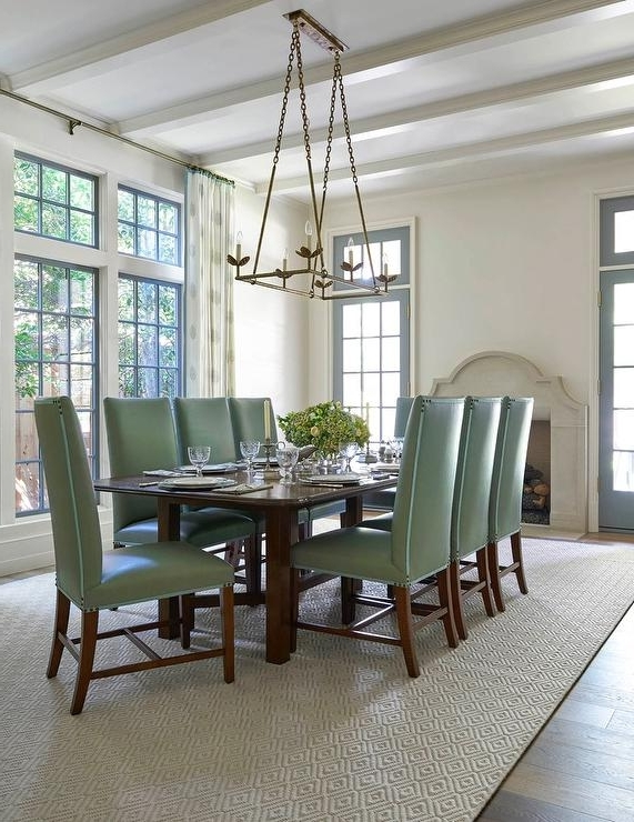 Green Dining Chairs – Contemporary – Dining Room – Colordrunk Design Inside Most Up To Date Green Dining Tables (Gallery 16 of 20)