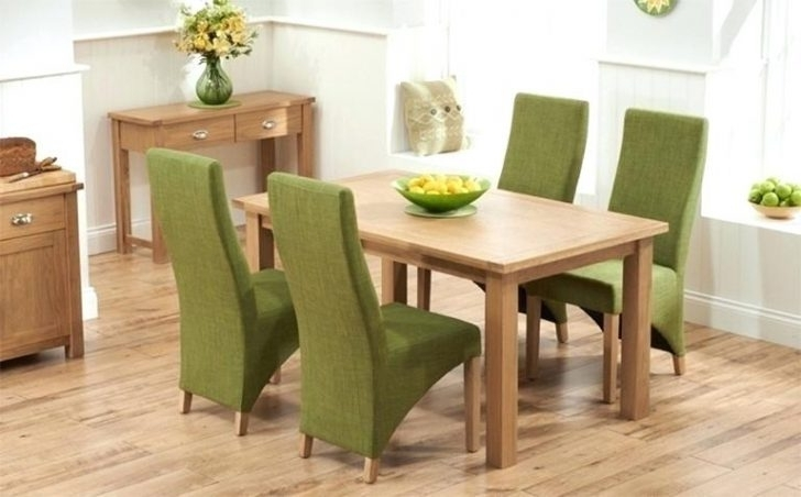 Green Dining Tables Pertaining To Well Known Green Dining Chairs Vintage Slipcovers For Ikea Leather White (View 8 of 20)