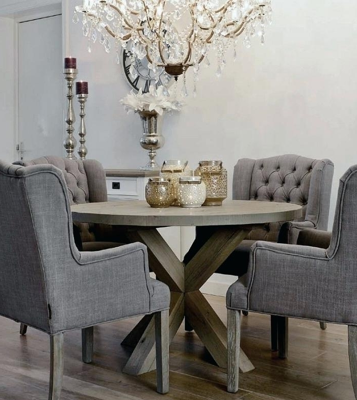 Grey Dining Room Chair Medium Size Of Dining Dining Room Table With 2018 Dining Tables Grey Chairs (View 7 of 20)