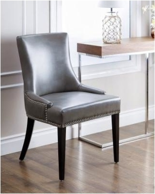 Grey Leather Dining Chairs For Furnishing The Dining Room – Home With Regard To 2017 Grey Leather Dining Chairs (View 7 of 20)