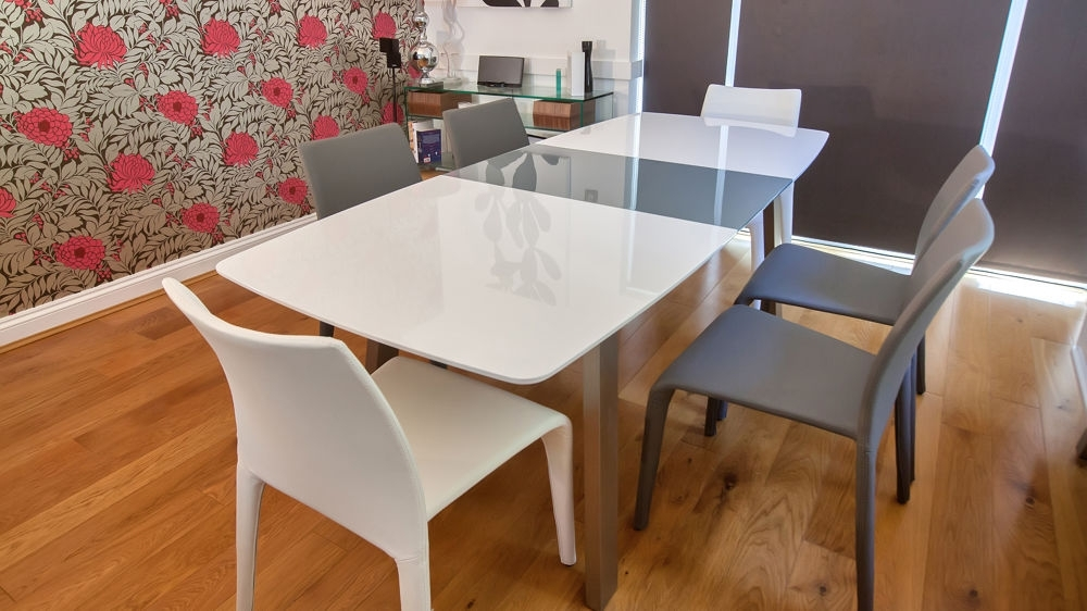 Grey Or White With 2018 Grey Gloss Dining Tables (View 6 of 20)