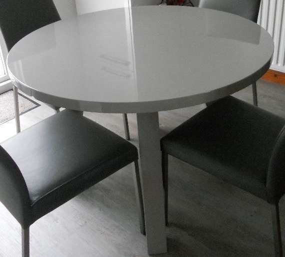 Gumtree For Current Grey Gloss Dining Tables (View 9 of 20)