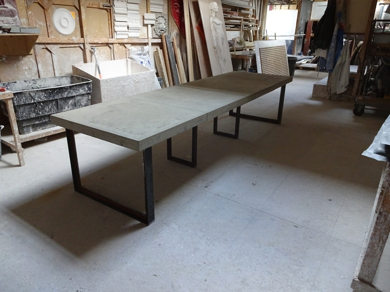 H & H Bespoke Concrete Top Tables Intended For Newest London Dining Tables (View 8 of 20)