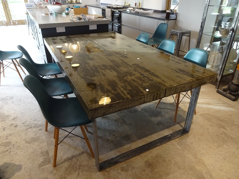 H & H Modern Dining Tables (Gallery 2 of 20)