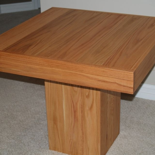 Hand Made Cube Dining Tablecannon Custom Woodworking Llc For Most Recent Cube Dining Tables (View 12 of 20)