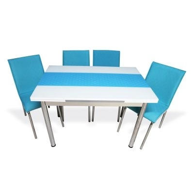 Hannah Concept With Regard To Blue Glass Dining Tables (View 13 of 20)