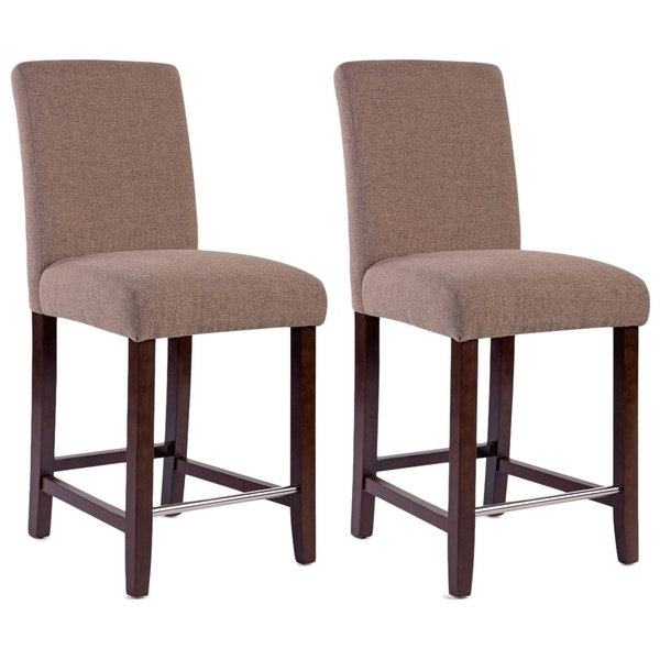 Harper 5 Piece Counter Sets Pertaining To Well Known Shop Harper Collection Beige Counter Stool (Set Of 2) – Free (View 12 of 20)