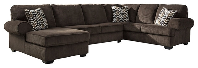 Harper Foam 3 Piece Sectionals With Raf Chaise In Most Popular Jinllingsly 3 Piece Sofa Sectional – Transitional – Sectional Sofas (View 15 of 15)