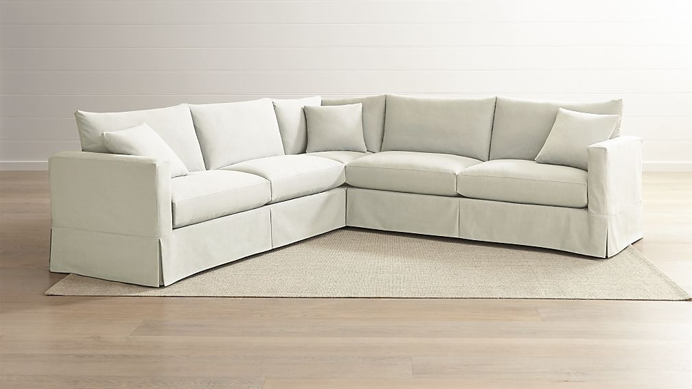 Harper Foam 3 Piece Sectionals With Raf Chaise Throughout Well Liked Harper Foam 3 Piece Sectional W/raf Chaise (View 6 of 15)