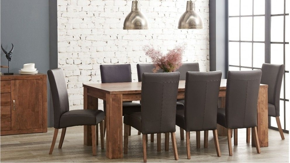 Harvey Dining Tables With Trendy Jasper 9 Piece Dining Suite – Dining Furniture – Dining Room (View 9 of 20)