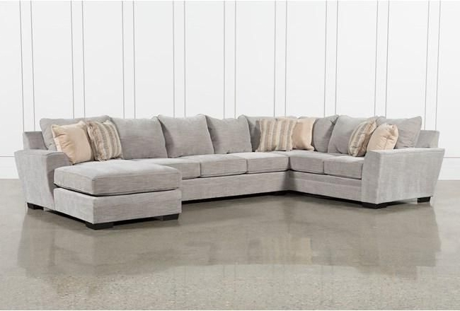 Haven Blue Steel 3 Piece Sectionals In Most Popular Delano Smoke 3 Piece Sectional (Gallery 3 of 15)