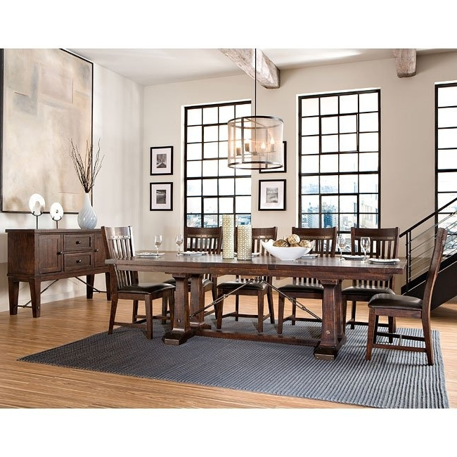 Hayden Dining Room Set Intercon Furniture, 5 Reviews (Gallery 14 of 20)