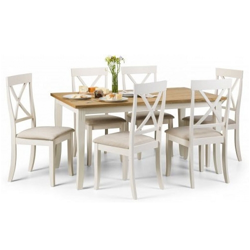 Hayden Dining Table & 6 Dining Chairs (View 13 of 20)