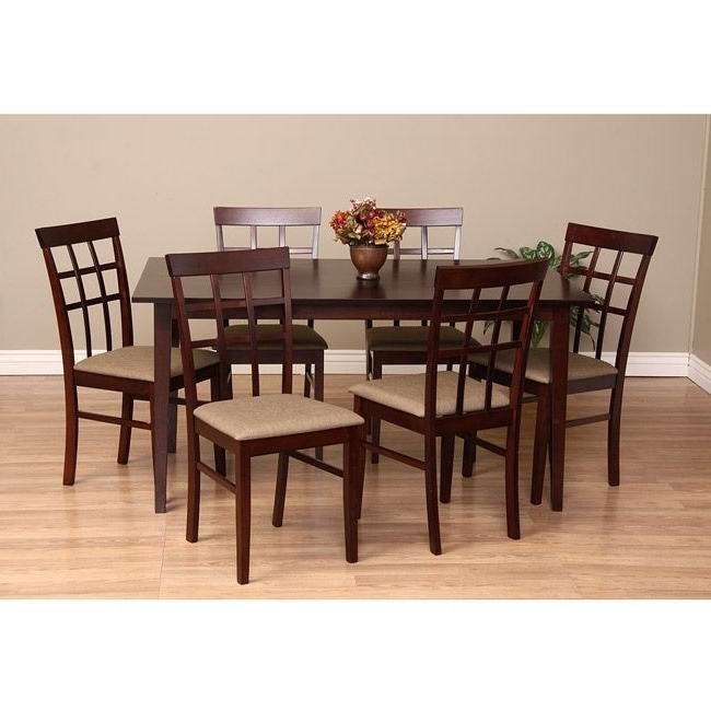 Helms 7 Piece Rectangle Dining Sets With Side Chairs Throughout Well Liked The 18 Best Dinning Table Benches Images On Pinterest (Gallery 20 of 20)