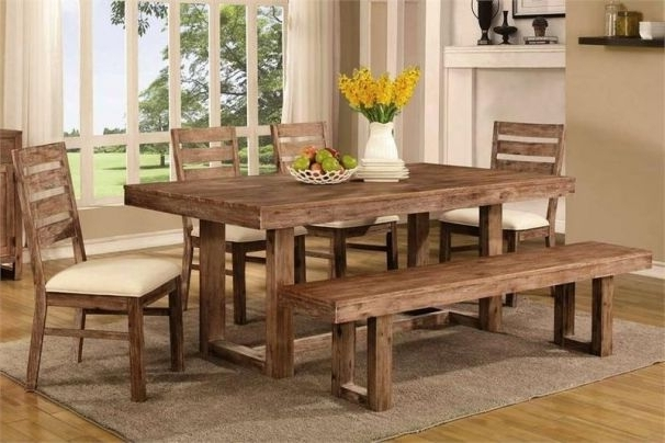 Helms Rectangle Dining Tables Inside Best And Newest Chelmsford Dining Set (View 10 of 20)