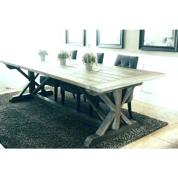 Helms Round Dining Tables For Famous Grey Wood Round Dining Table Grey Round Table Modern Rustic Round (Gallery 11 of 20)