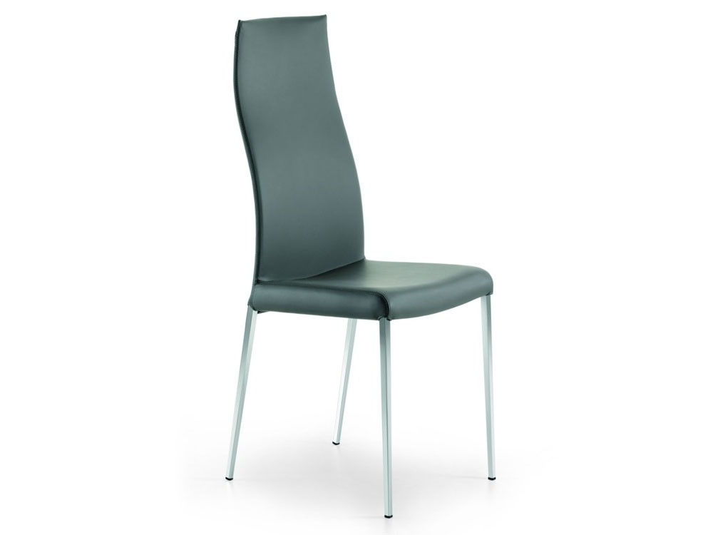 High Back Dining Chairs Inside Latest Cattelan Italia Anna Dining Chair – High Backstudio Kronos (View 6 of 20)