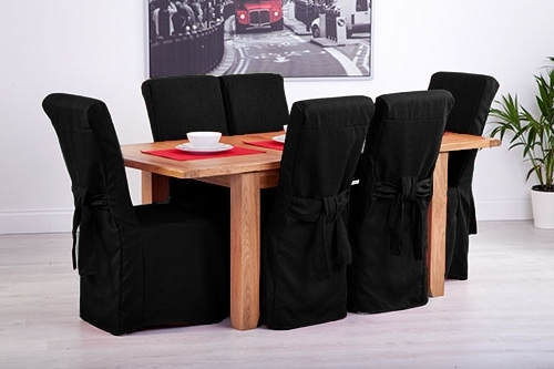 High Back Leather Dining Chairs In 2018 Set Of 8 Black Linen Fabric Dining Chair Covers For Scroll Top High (Gallery 20 of 20)
