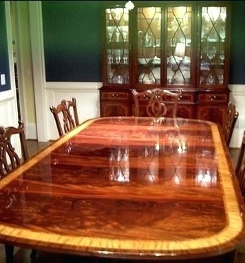 High End Dining Room Set – Storiesdesk With Well Known Mahogany Dining Tables Sets (Gallery 14 of 20)