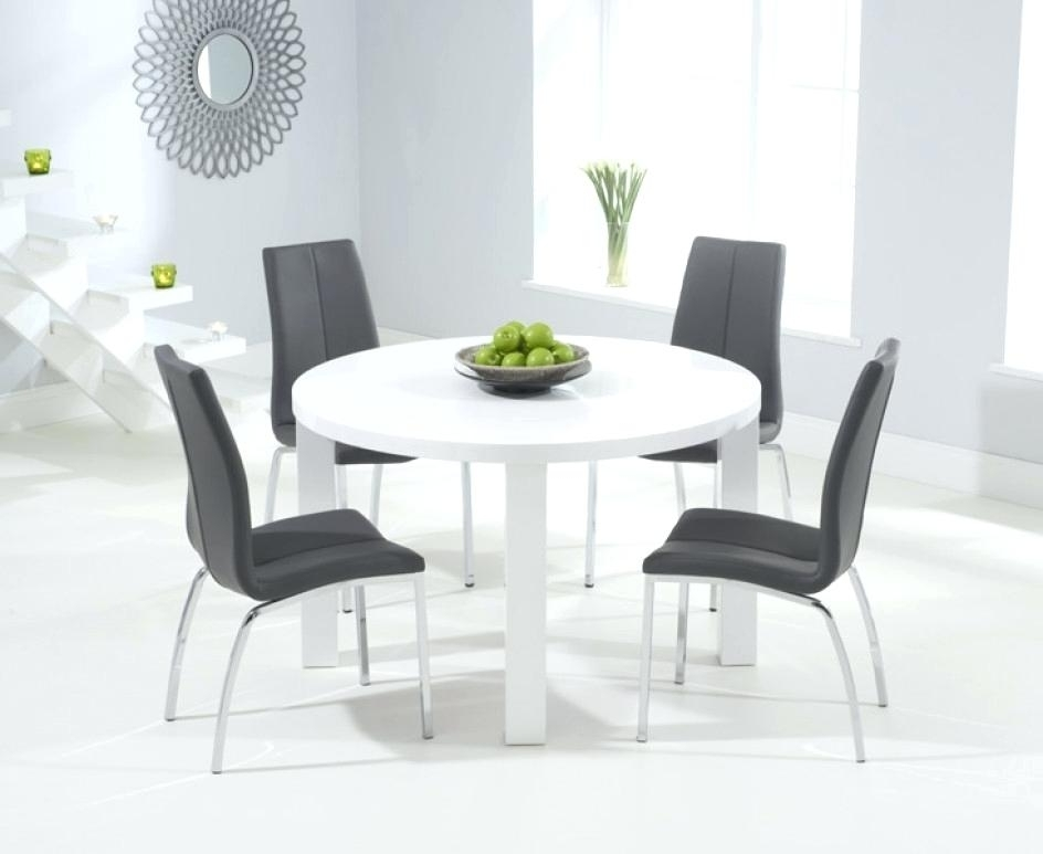 High Gloss Round Dining Tables In Most Popular High Gloss Dining Table White High Gloss Extending Dining Table High (View 19 of 20)