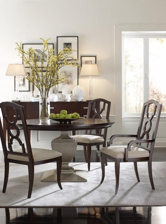 Highland House Furniture: Hh20 315 Cf – Orion Round Dining Table Inside Best And Newest Candice Ii Round Dining Tables (View 10 of 20)