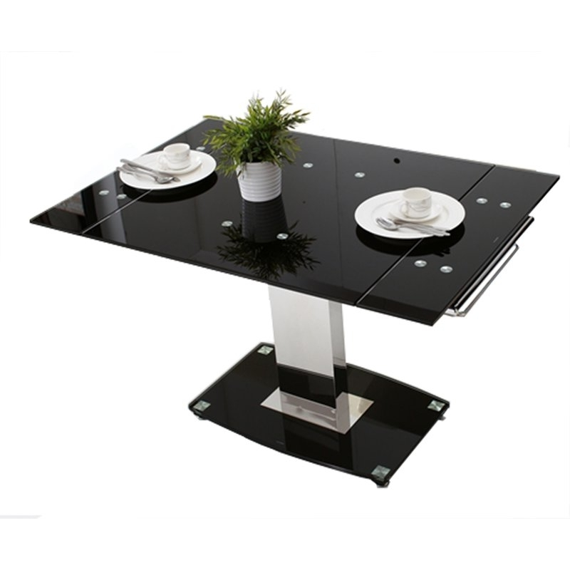 Hokku Designs Glass Extendable Dining Table (View 11 of 20)