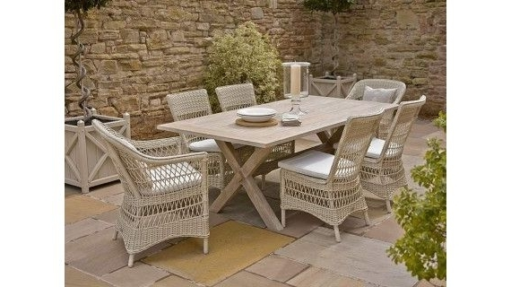 Holloways In Well Liked Garden Dining Tables And Chairs (View 12 of 20)