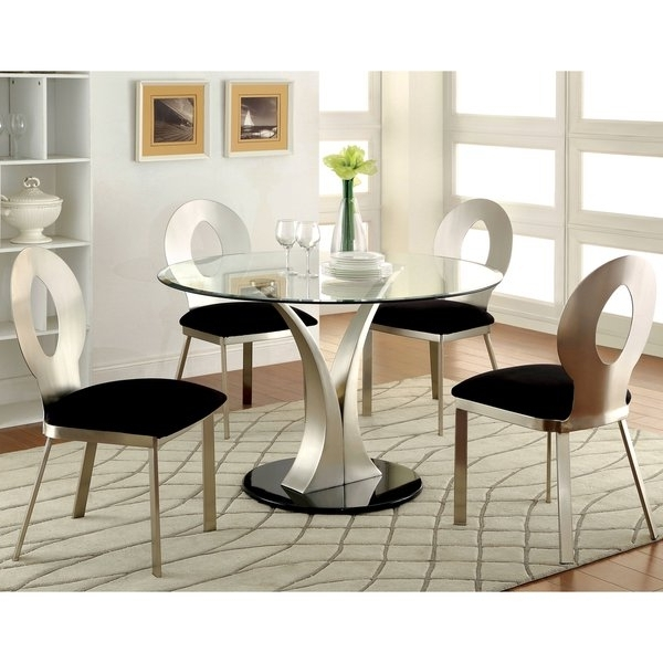 Home Design Ideas For Well Liked Jaxon Grey 5 Piece Round Extension Dining Sets With Wood Chairs (View 6 of 20)