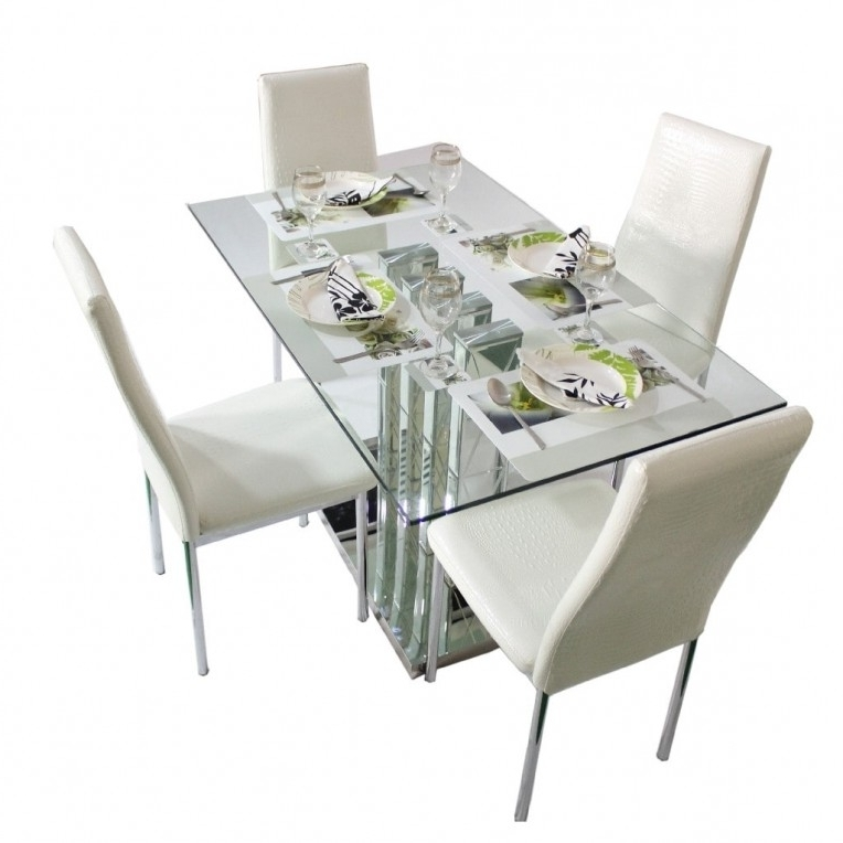 Home Design Ideas Pertaining To Most Recent Crystal Dining Tables (View 11 of 20)