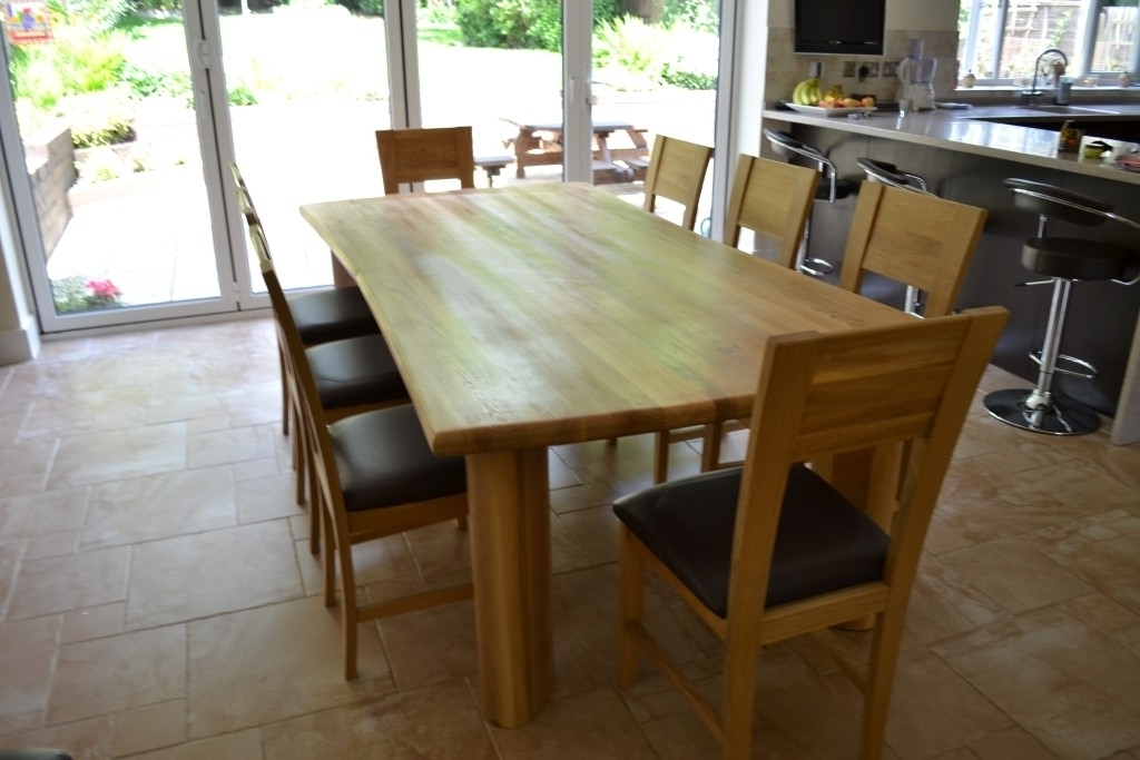 Home Design Interior Within Trendy 8 Seater Oak Dining Tables (Gallery 18 of 20)
