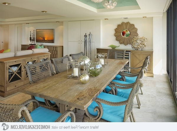 Home Design Lover Inside Coastal Dining Tables (View 6 of 20)