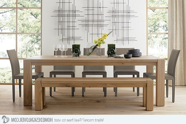 Home Design Lover Throughout Well Known Dining Room Tables (Gallery 20 of 20)