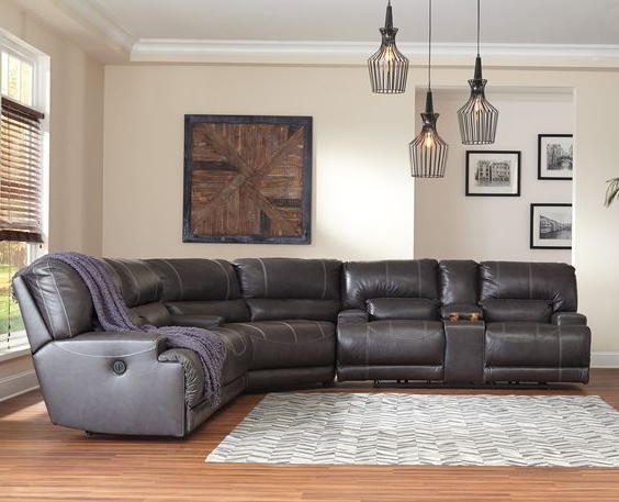 Home Ideas, Good Ideas And Within Travis Cognac Leather 6 Piece Power Reclining Sectionals With Power Headrest & Usb (Gallery 13 of 15)