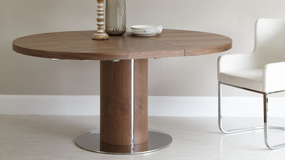 Home Living Ideas Pertaining To Extended Round Dining Tables (View 14 of 20)