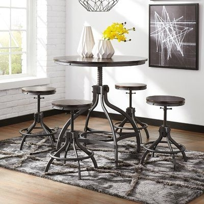Home Redecoration Pertaining To Jameson Grey 5 Piece Counter Sets (View 8 of 20)