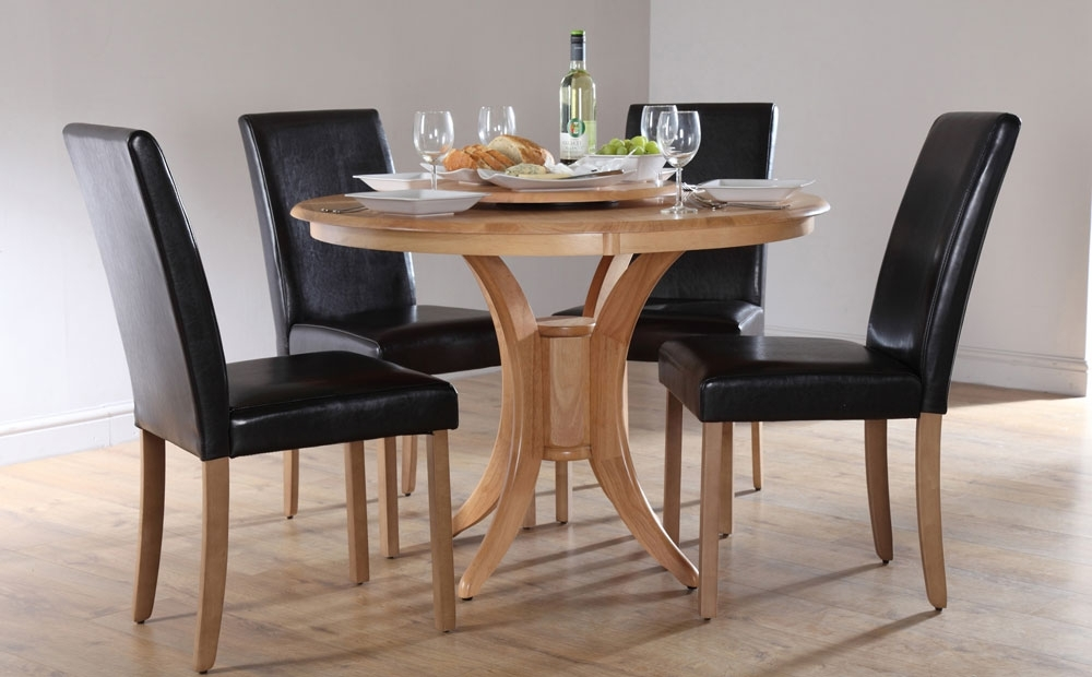 Homesfeed In Small Round Dining Table With 4 Chairs (Gallery 1 of 20)