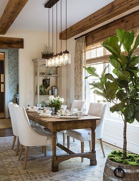 House, Room And Dining Intended For Well Known Dining Tables Lighting (Gallery 12 of 20)