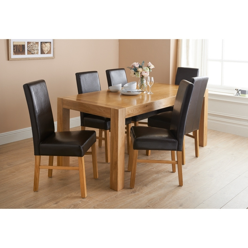 How And Why To Pick Oak Dining Table And Chairs – Blogbeen For Latest Oak Dining Tables Sets (Gallery 11 of 20)