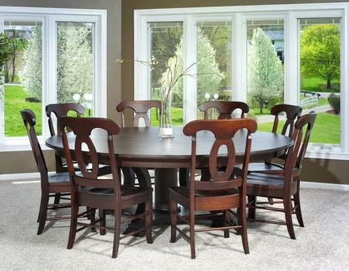 Huge Round Dining Tables For Latest 72 Inch Round Dining Table For 8 (Gallery 7 of 20)