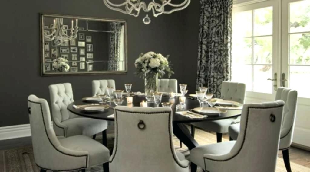 Huge Round Dining Tables In 2018 Large Round Dining Table With Leaf Drop Leaves Uk Glamorous (Gallery 19 of 20)